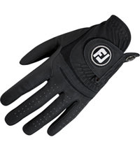 Men's WeatherSof Black Golf Glove