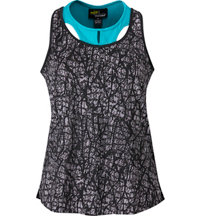 Women's Key Hole Sleeveless Polo