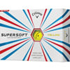 CALLAWAY Supersoft Yellow Golf Balls