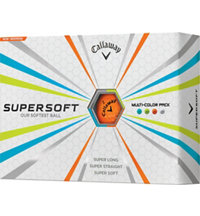 Supersoft Multi-Color Golf Balls
