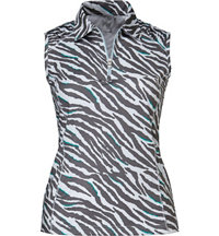 Women's Animal Sleeveless Polo