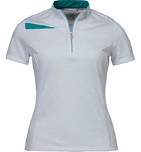 Women's Color Block Short Sleeve Polo