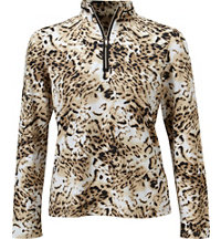 Women's Gracie Printed Long Sleeve Mock