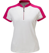 Women's Parker Short Sleeve Zip Mock