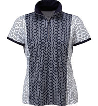 Women's Tatum Short Sleeve Zip Mock