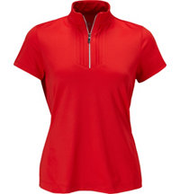 Women's Tess Short Sleeve Zip Polo