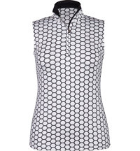 Women's Jayda Sleeveless Zip Polo