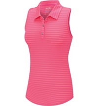 Women's Tour Mesh Sleeveless Polo