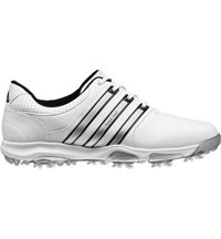 Men's Tour 360 X Golf Shoes - Running White/Black/Silver Metallic