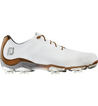 Men's D.N.A. Golf Shoes - White/Bronze (FJ# 53487)
