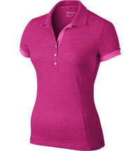 Women's Cardinal Short Sleeve Polo