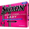 SRIXON Personalized Lady Soft Feel Pink Golf Balls