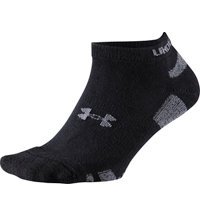 Men's Heatgear No Show Socks (4-Pack)