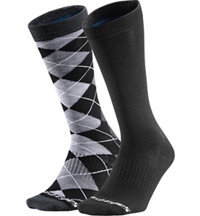 Men's Dress Crew Socks (2-Pack)
