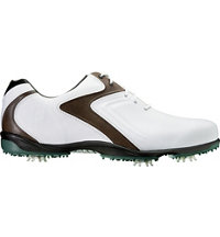 Men's Hydrolite Spiked Golf Shoes - White/Brown/Green (FJ# 50024)