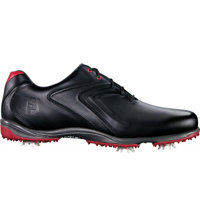 Men's Hydrolite Spiked Golf Shoes - Black/Black/Red (FJ# 50048)