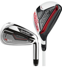 RSi1 4H, 5H 6-PW, AW Combo Iron Set with Steel Shafts