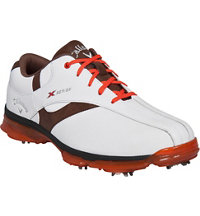 Men's X Nitro Golf Shoe - White/Brown/Orange