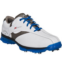 Men's X Nitro Golf Shoe - White/Grey/Blue