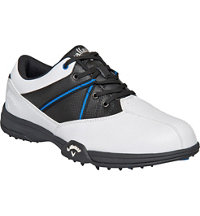 Men's Chev Comfort Golf Shoe - White/Black/Blue