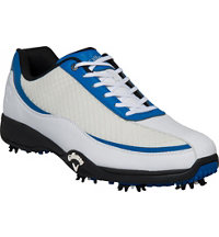 Men's Chev Aero II Golf Shoe - White/Blue