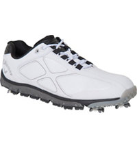 Men's Xfer Pro Golf Shoe - White/Black