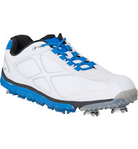 Men's Xfer Pro Golf Shoe - White/Blue