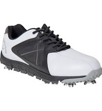 Men's Xfer Sport Golf Shoe - White/Black