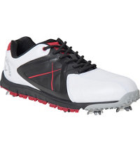 Men's Xfer Sport Golf Shoe - White/Red