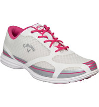 Women's Solaire Golf Shoe - White/Pink