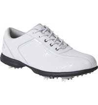 Women's Halo Pro Golf Shoe - White/Leopard