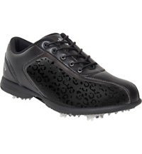 Women's Halo Pro Golf Shoe - Black/Black
