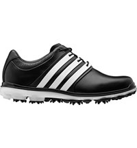 Men's Pure360 LTD Spiked Golf Shoes - Black/White/Silver