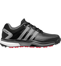 Men's Adipower Boost Golf Shoes - Core Black/Iron Metallic/Core Black