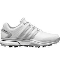 Men's Adipower Boost Golf Shoes - White/Silver/White