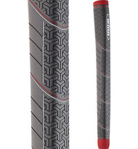 Medallist Pistol Putter Grip - Dark Grey/Red