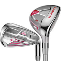 Lady Fly-Z XL 4H-6H, 7-PW,SW Combo Iron Set with Graphite Shafts
