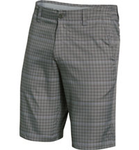 Men's Match Play Plaid Shorts