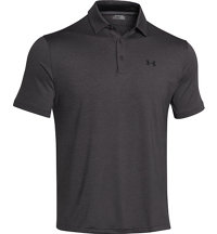 Men's Playoff Heathered Short Sleeve Polo