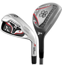 E8 3H-4H, 5-PW Combo Iron Set with Steel Shafts