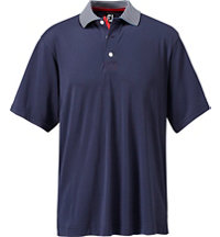 Men's Colling Solid Pique Short Sleeve Polo