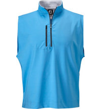 Men's Half-Zip Performance Jersey Vest