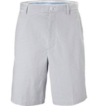 Men's Seersucker Check Shorts