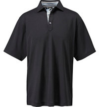 Men's Stretch Pique Short Sleeve Polo
