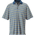 FootJoy Men's Stretch Pique Multi Stripe Short Sleeve Polo