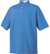 Men's Stretch Pique With Contrast Stitch Short Sleeve Polo