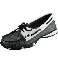 Women's Marina Spikeless Shoe White/Black Pearl