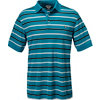 CALLAWAY Men's Bold Regimental Stripe Short Sleeve Polo