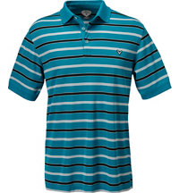 Men's Bold Regimental Stripe Short Sleeve Polo
