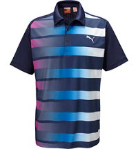 Men's GT Fade Stripe Short Sleeve Polo